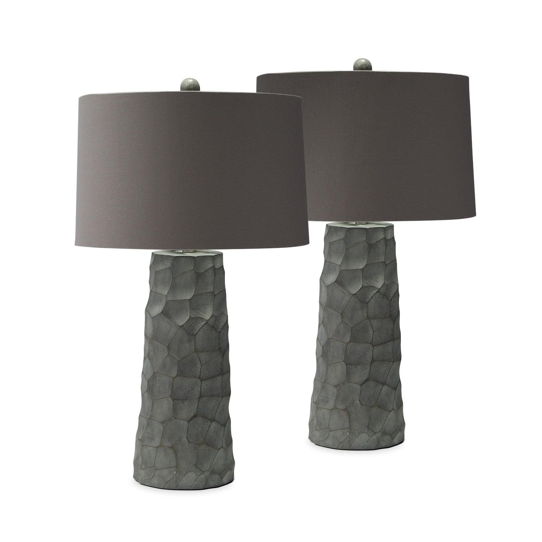 Thumbprint 2-Pack Table Lamp Set