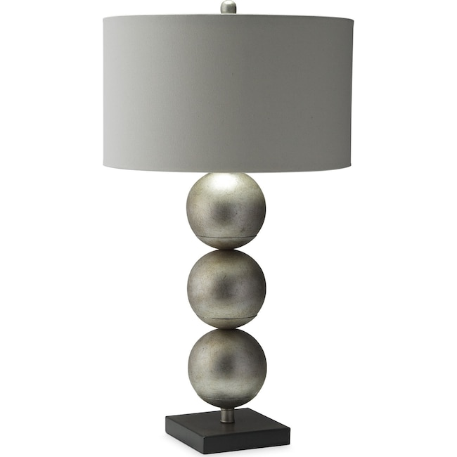Home Accessories - Three Orb Table Lamp
