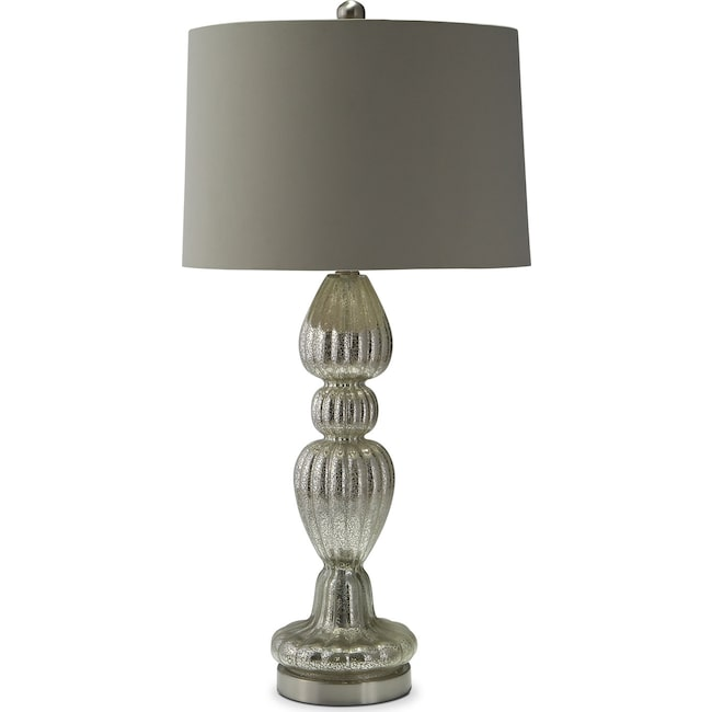 Home Accessories - Scalloped Table Lamp
