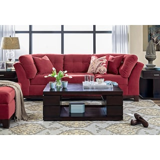 The Sebring Living Room Collection - Poppy