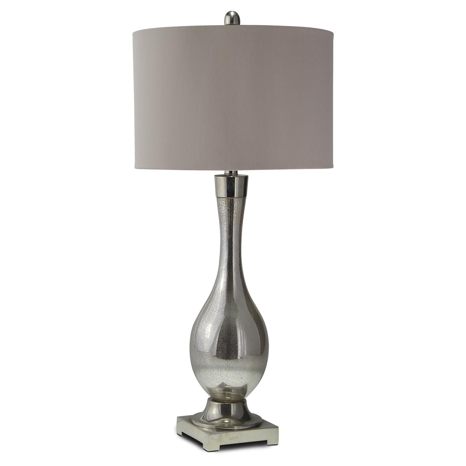 Home Accessories - Mercury Glass Table Lamp