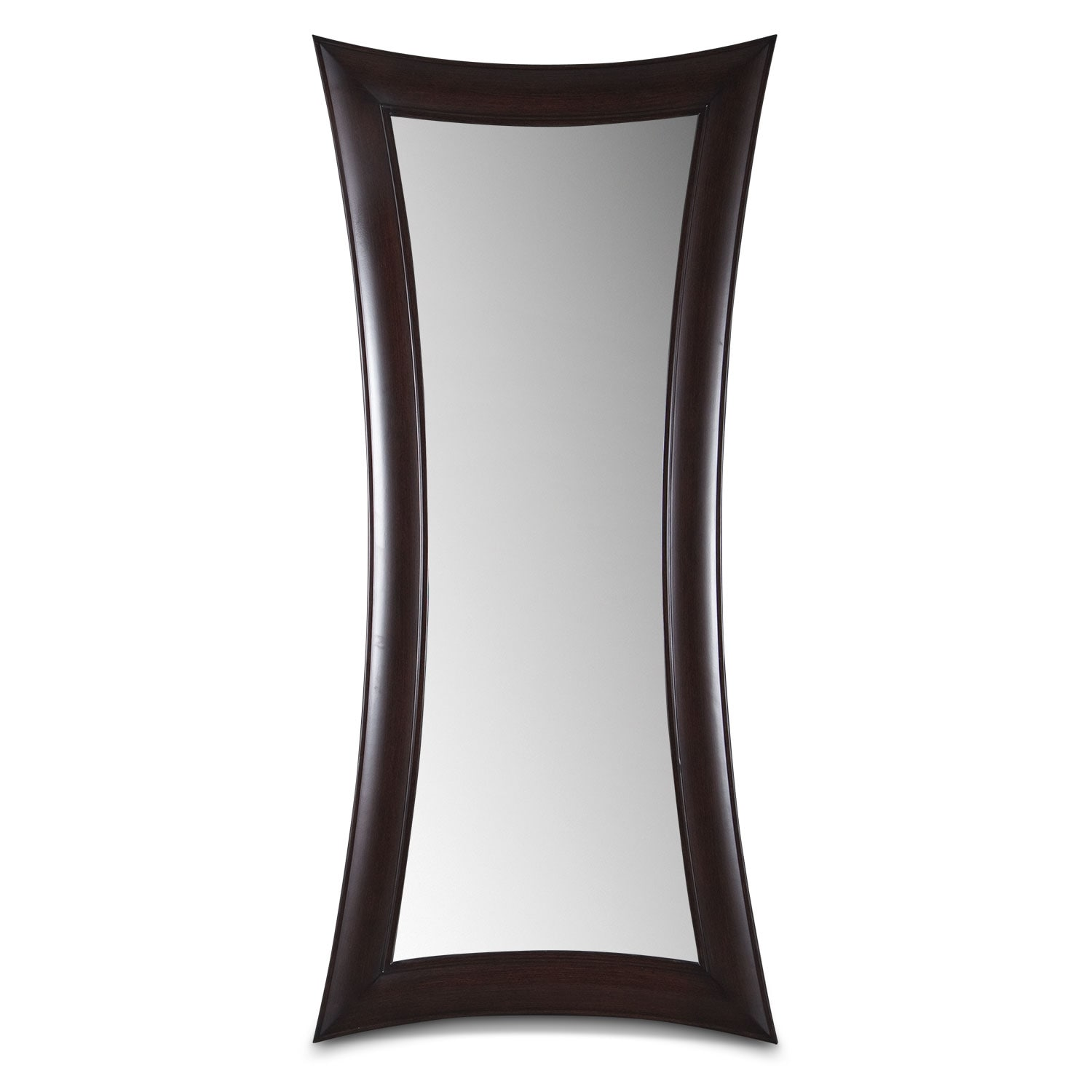 Accent and Occasional Furniture - Abigail Wenge Floor Mirror
