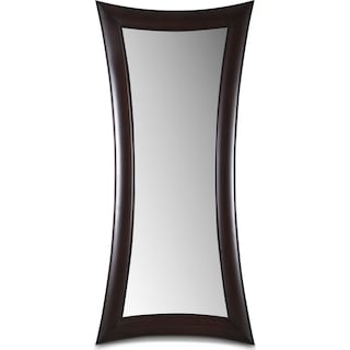 Abigail Floor Mirror - Wenge