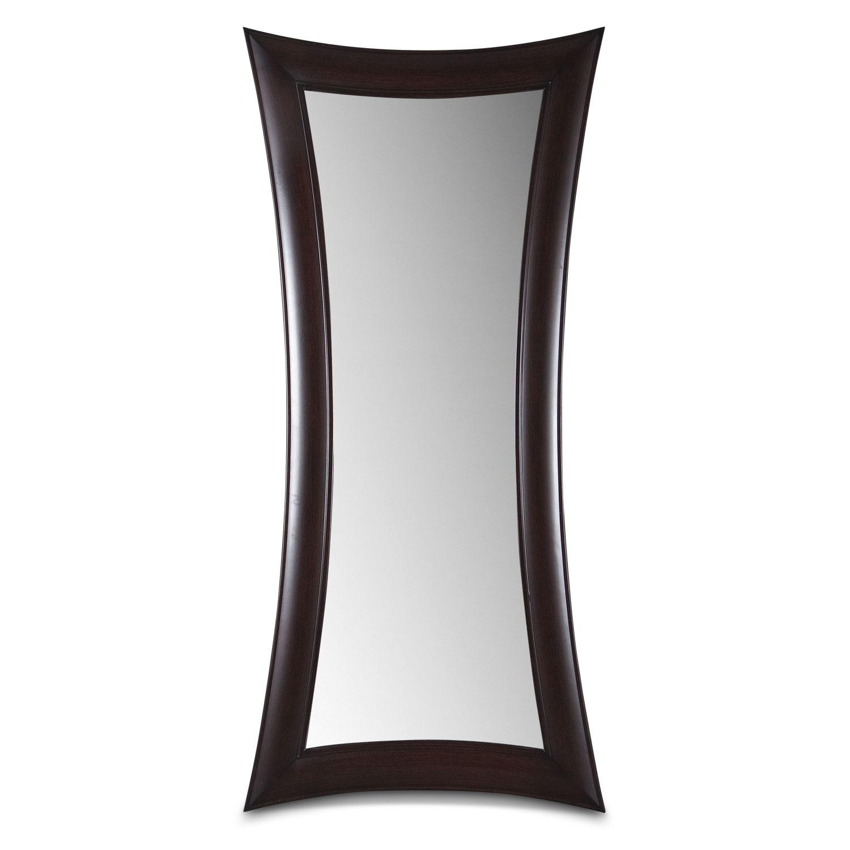 abigail floor mirror wenge