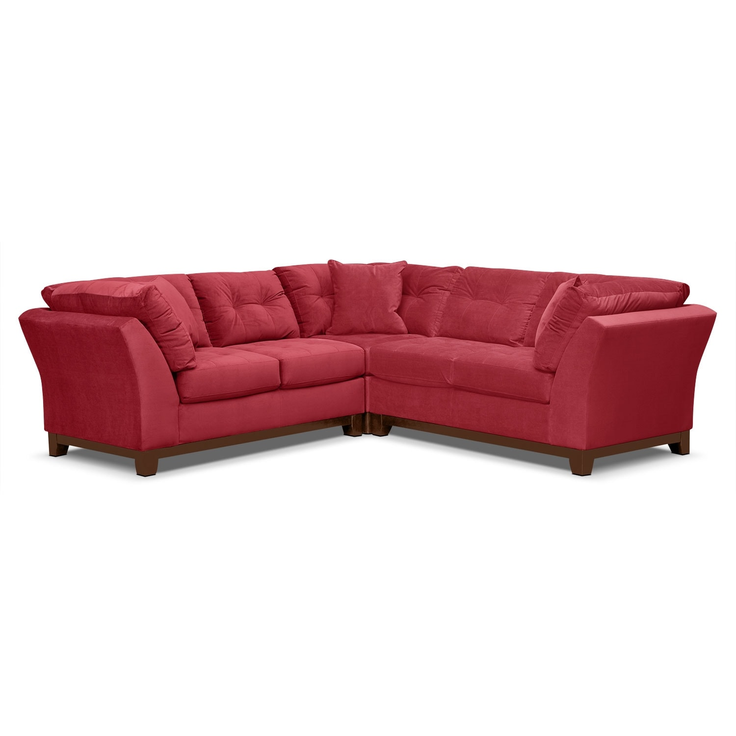Solace 3-Piece Sectional - Poppy