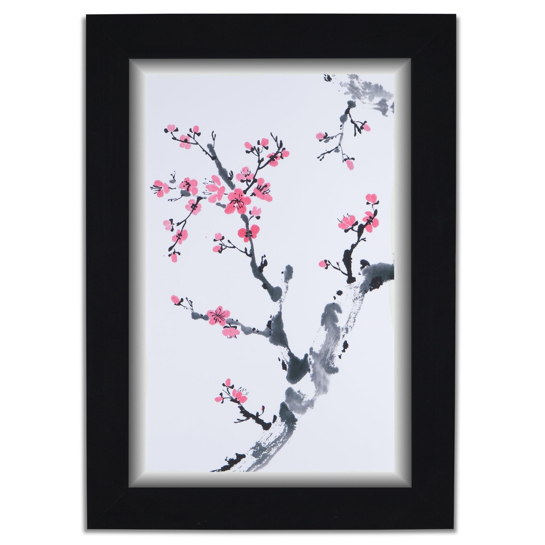 Home Accessories - Plum Blossom II Framed Print