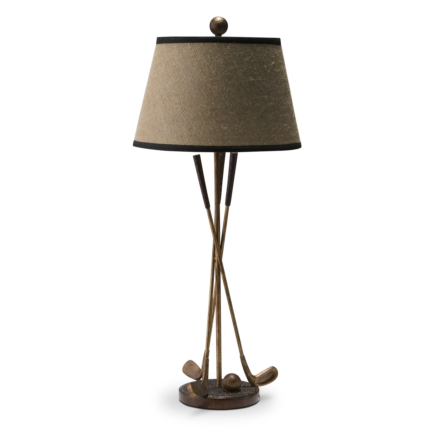 Home Accessories - Golf Club Table Lamp
