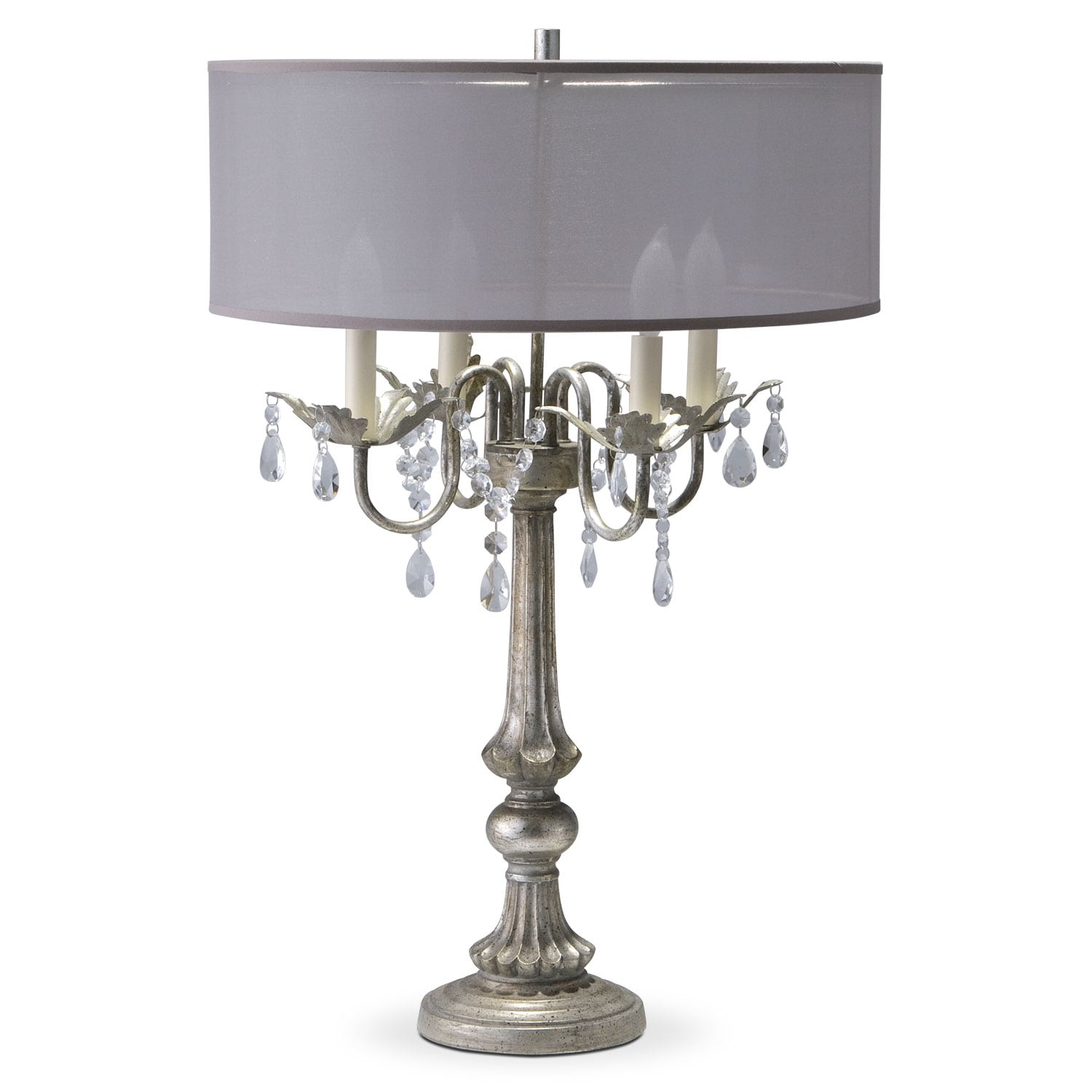 Table Lamps | Value City Furniture and Mattresses