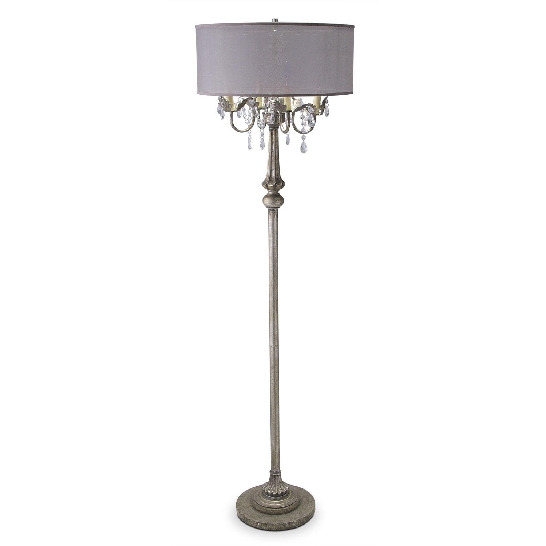 Home Accessories - Chandelier Floor Lamp