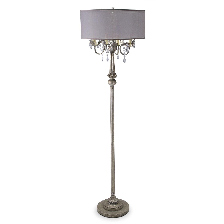 Pendant Floor Lamp: Chandelier Floor Lamp