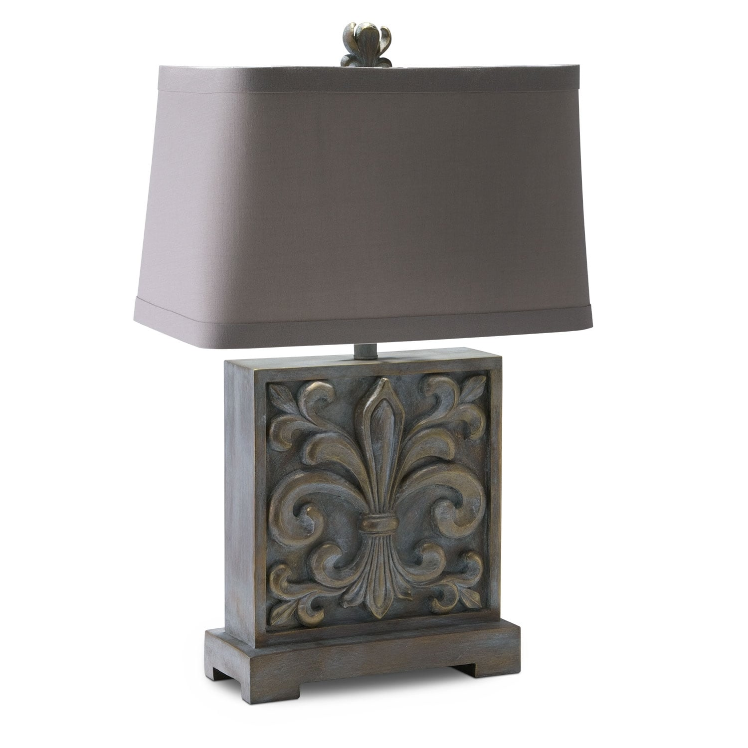 Home Accessories - Fleur de Lis Table Lamp