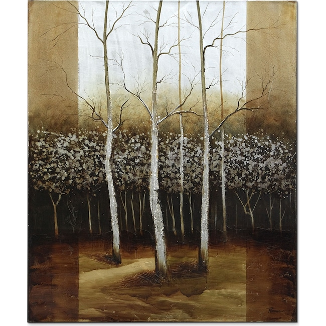 Home Accessories - Forest Light Canvas Print