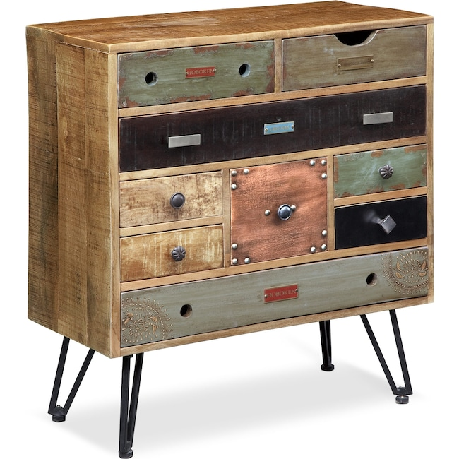 Accent and Occasional Furniture - Traveler Accent Cabinet - Multi