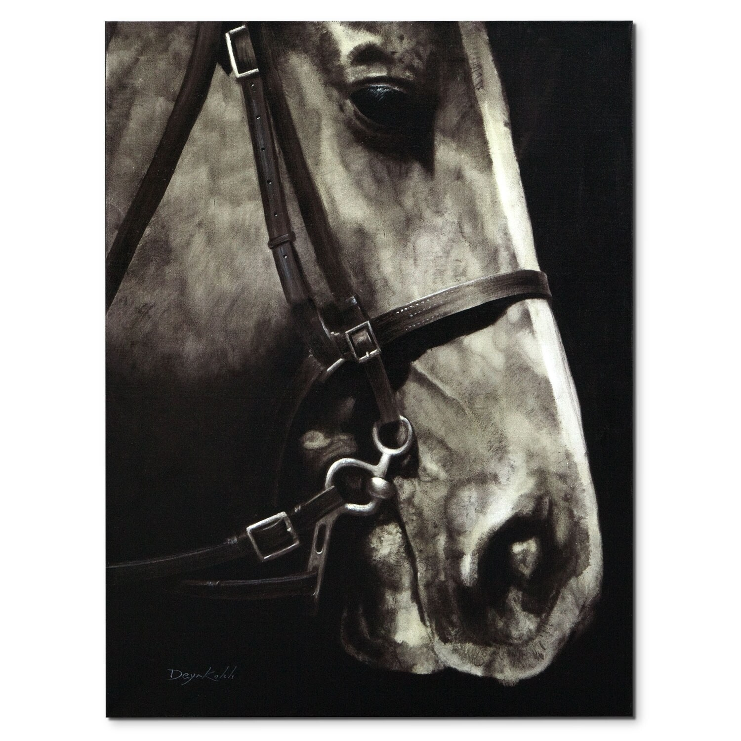 Sir Edward Canvas Print