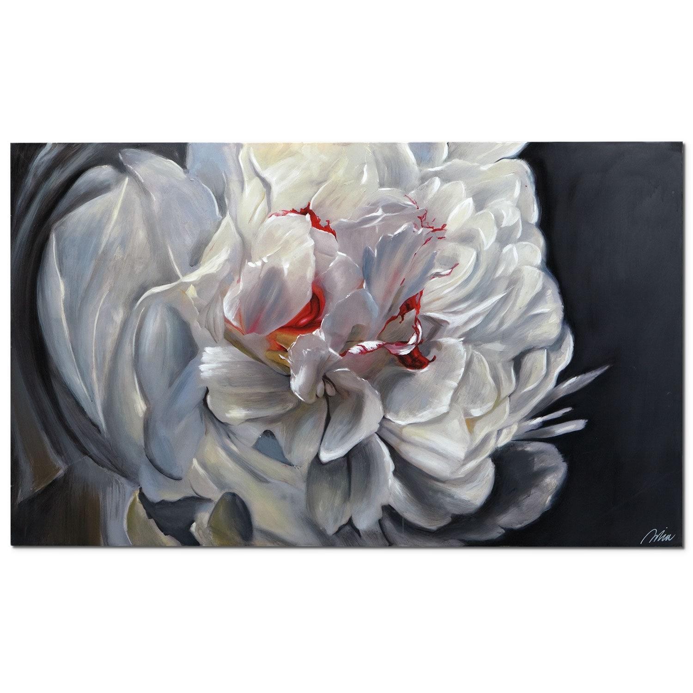 Home Accessories - Floral Elegance Canvas Print