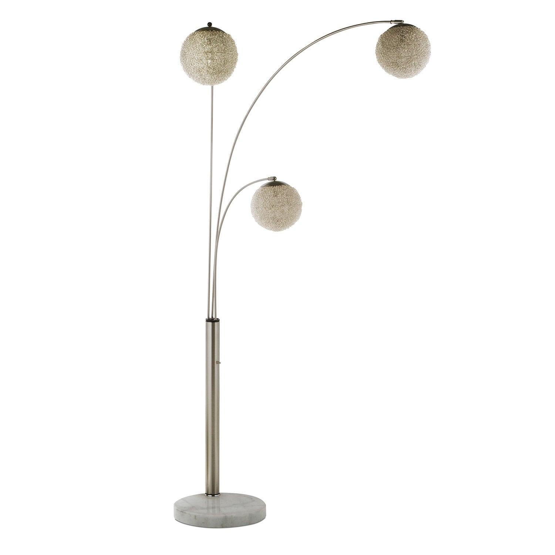 Home Accessories - Metal Saturn Arc Floor Lamp