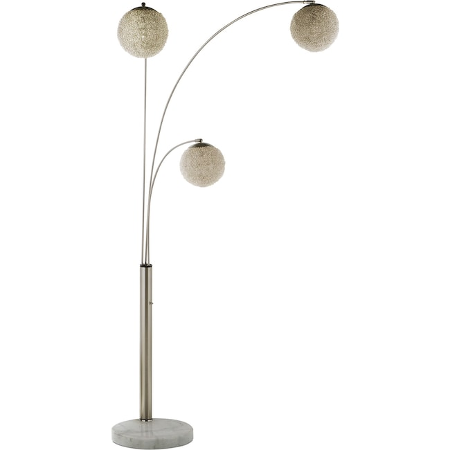 Home Accessories - Metal Saturn Arc Floor Lamp