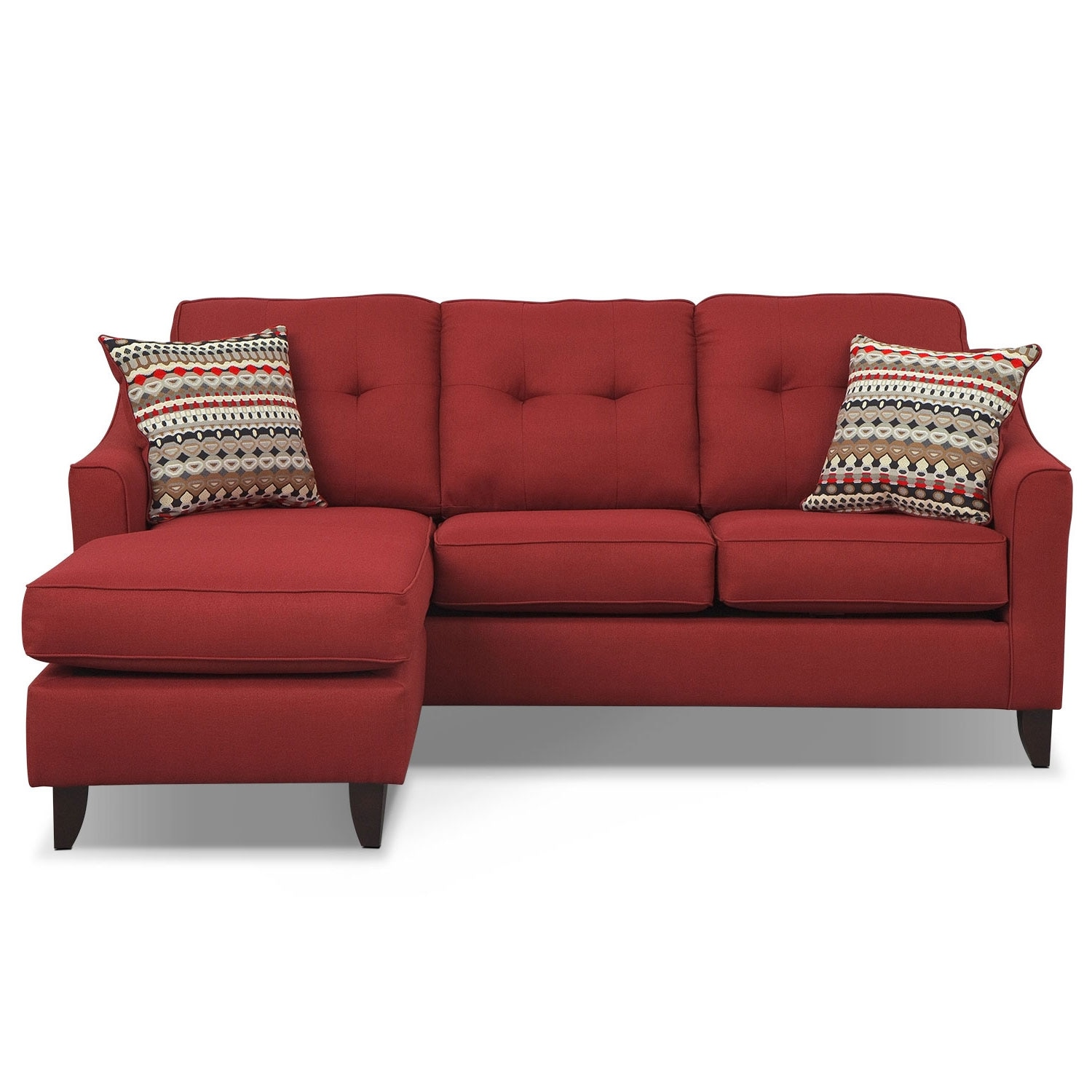 Marco Chaise Sofa Red Value City Furniture