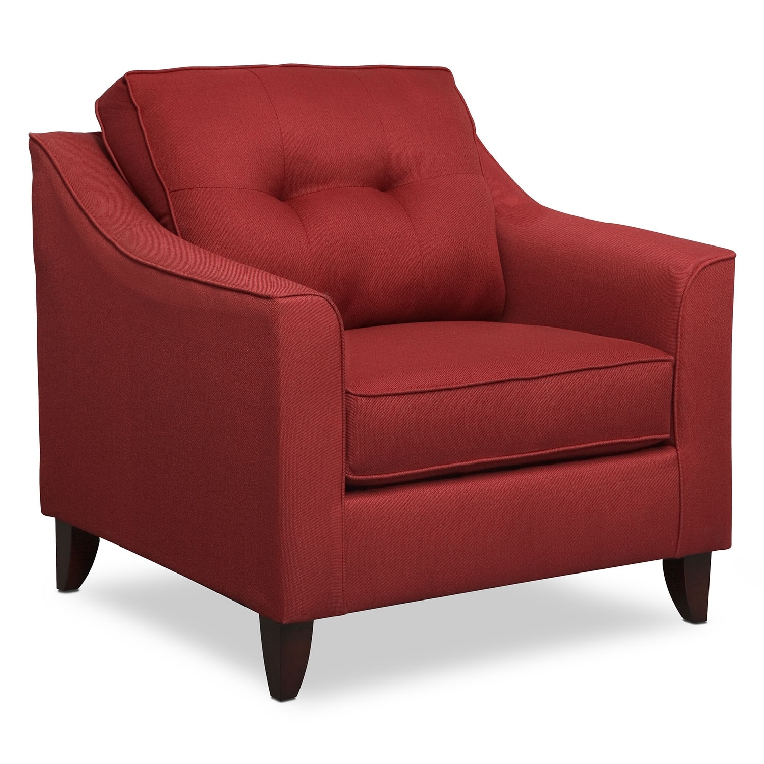 Living Room Furniture - Marco Red Chair