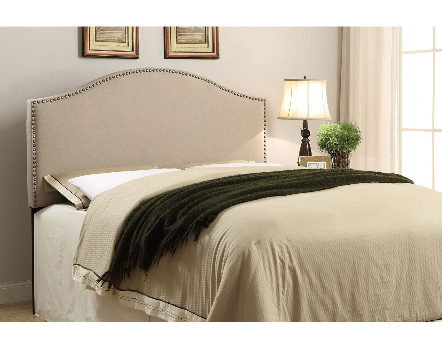 Wyatt Beige Headboard Collection
