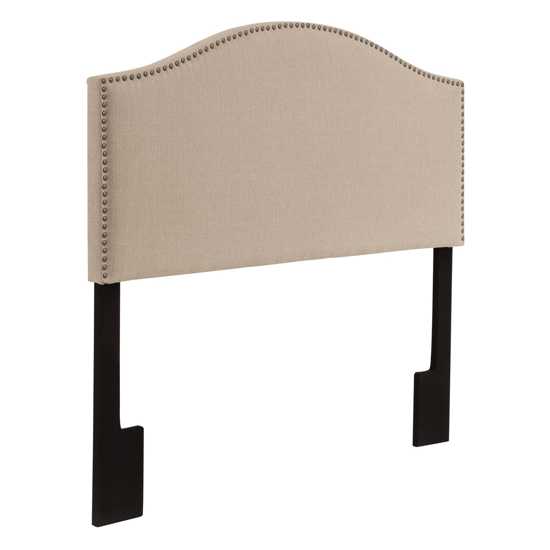 Bedroom Furniture - Wyatt Tan Full/Queen Headboard