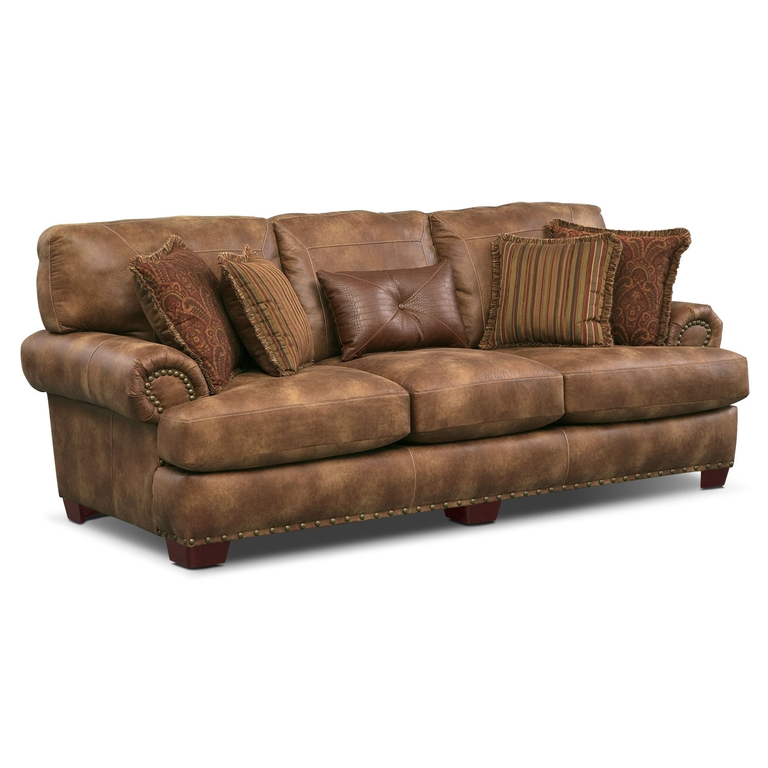 Burlington Sofa - Cognac