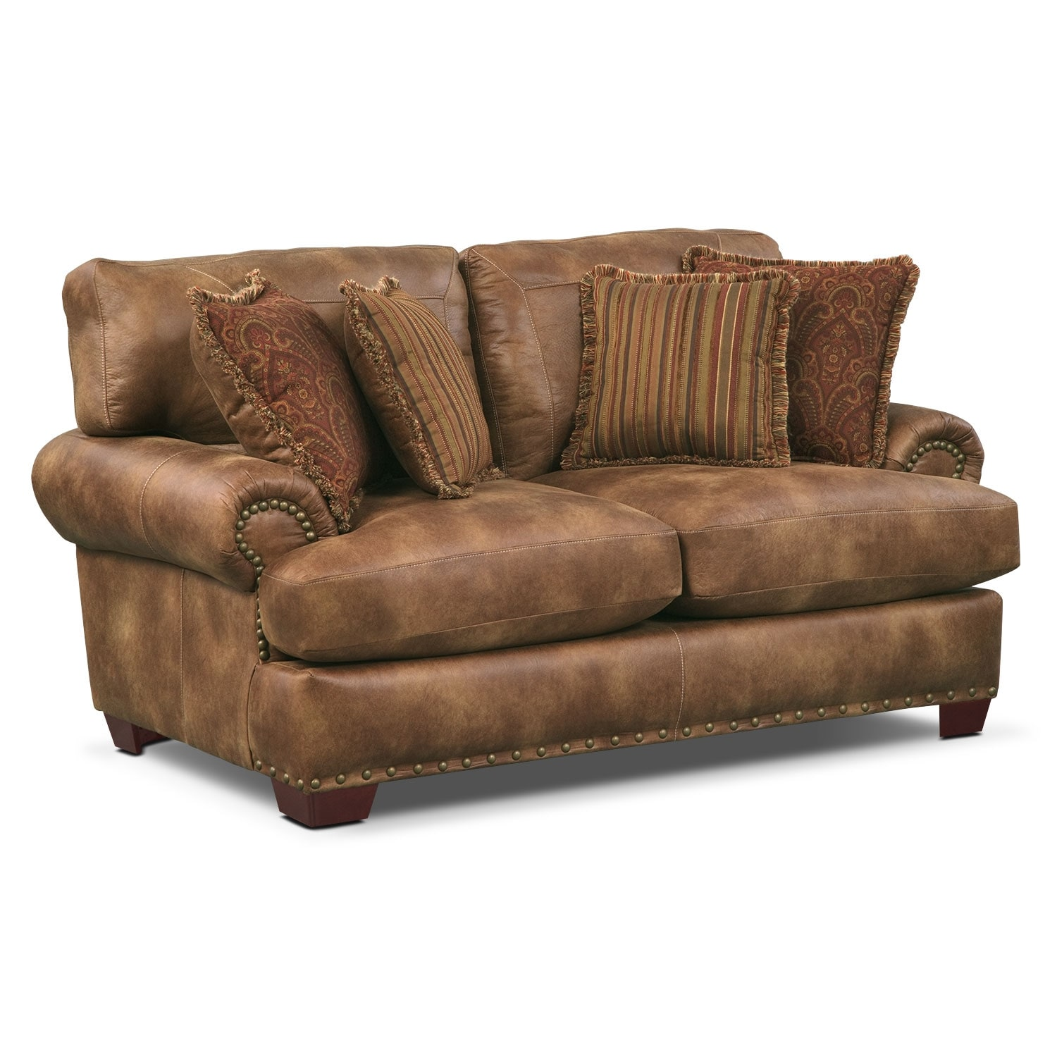 Burlington Loveseat - Cognac