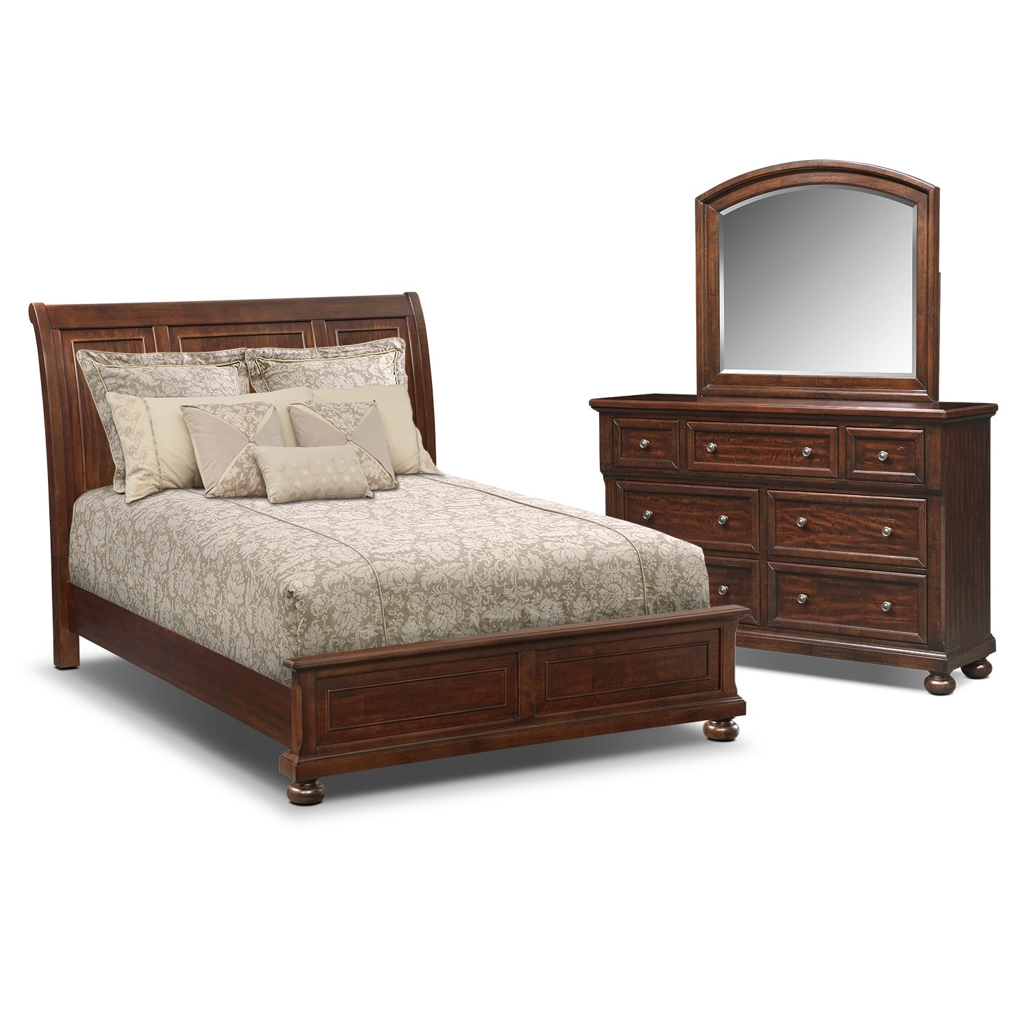 Hanover 5 Pc. Queen Panel Bedroom