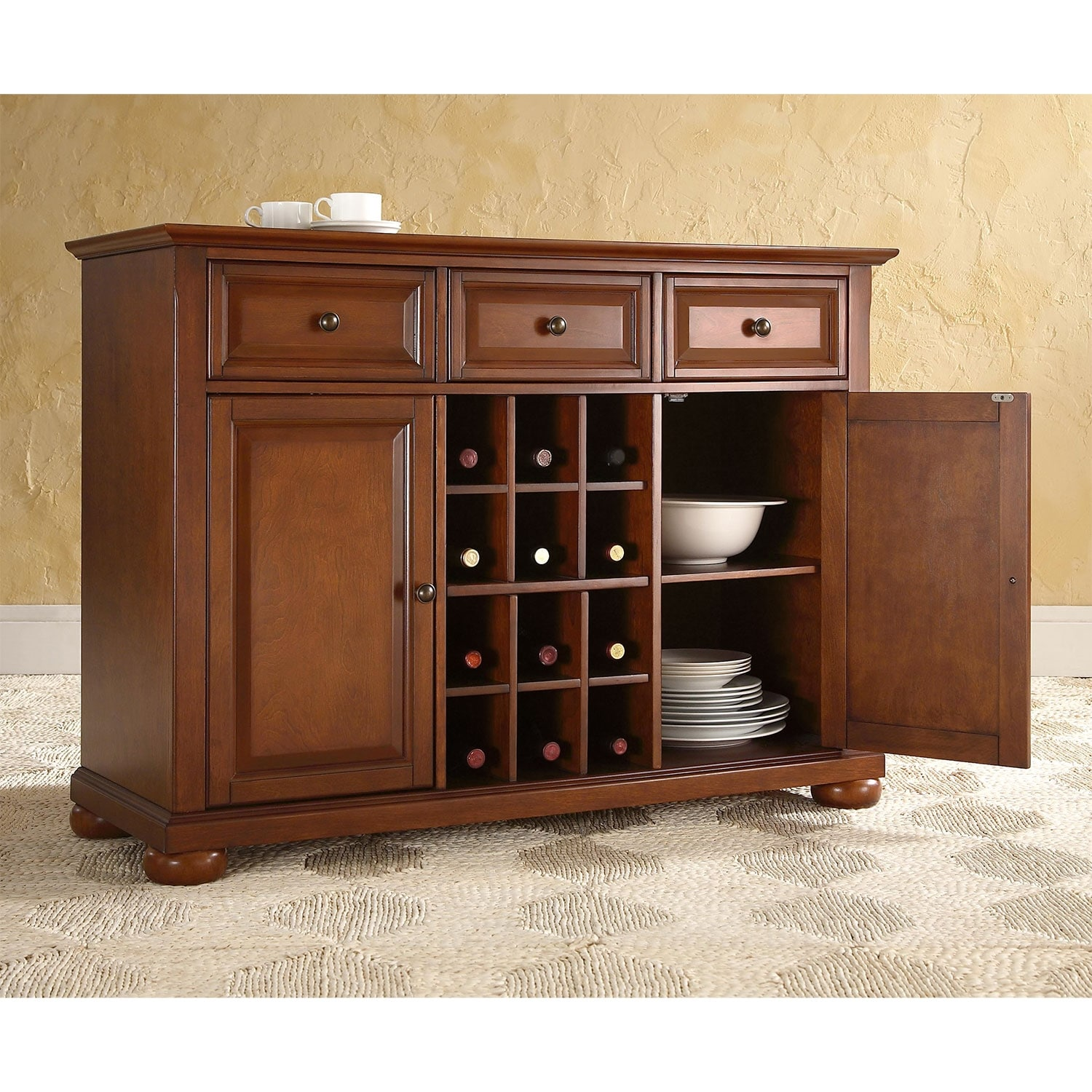 Accent and Occasional Furniture - Lee Sideboard - Cherry