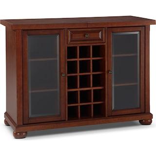 Russell Bar Cabinet - Mahogany