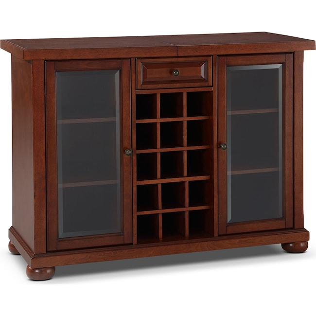 Accent and Occasional Furniture - Russell Bar Cabinet