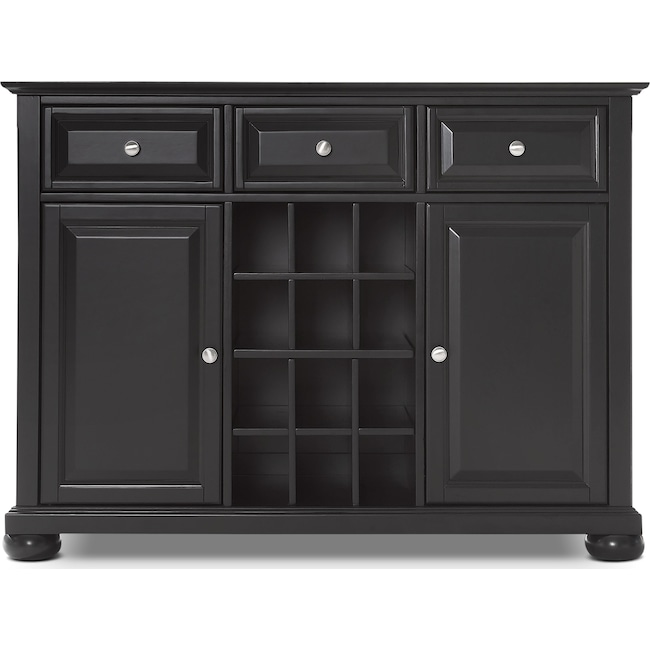 Accent and Occasional Furniture - Macon Sideboard - Black