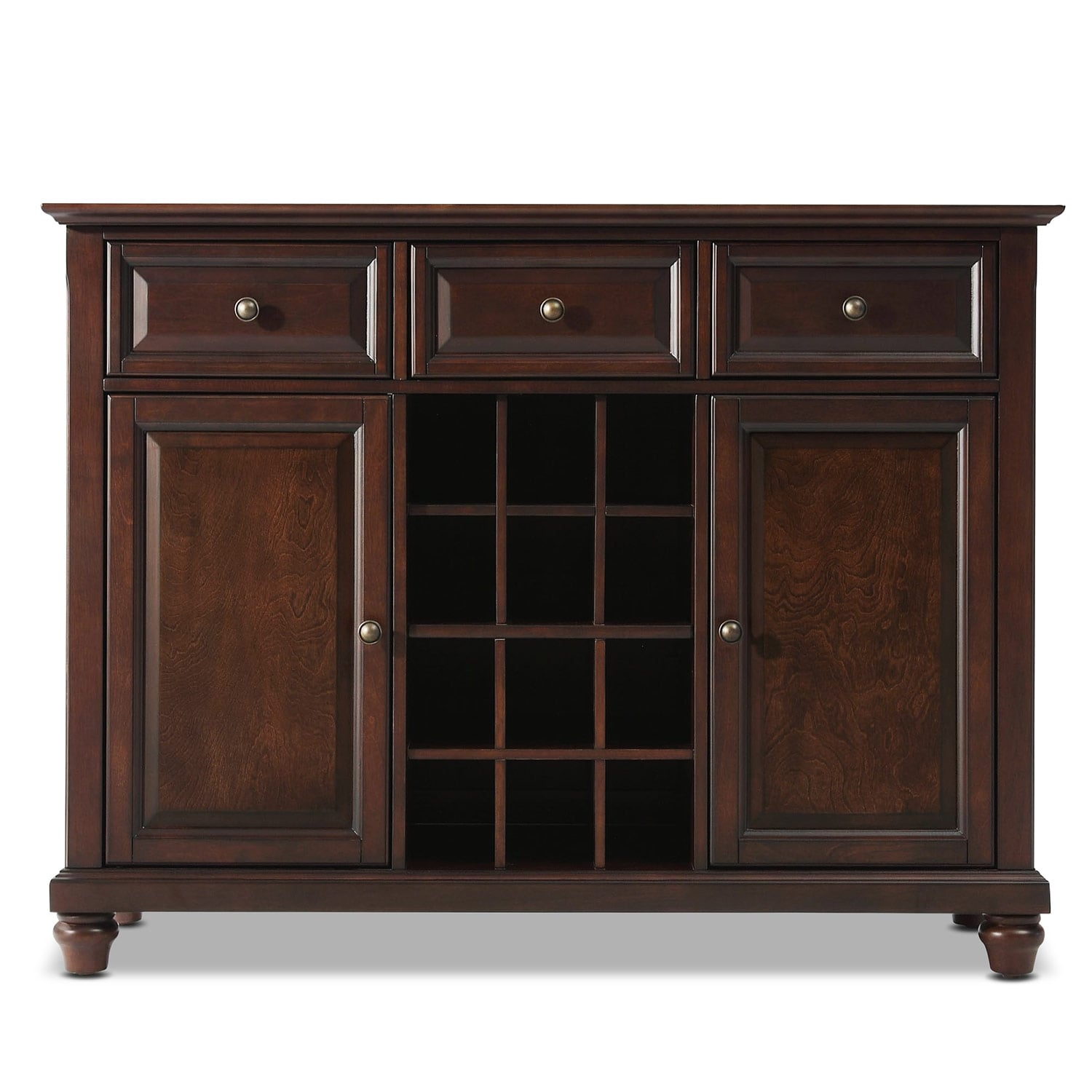 Accent and Occasional Furniture - Viva Sideboard - Mahogany