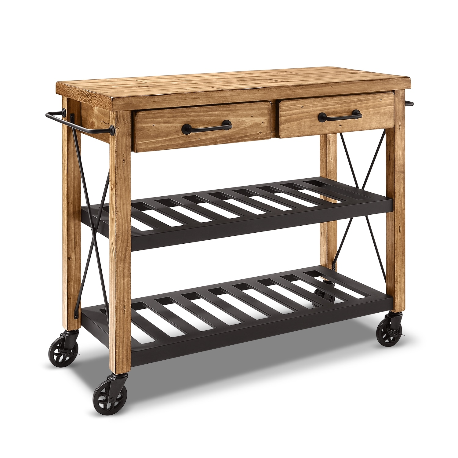 Fremont Kitchen Cart - Natural