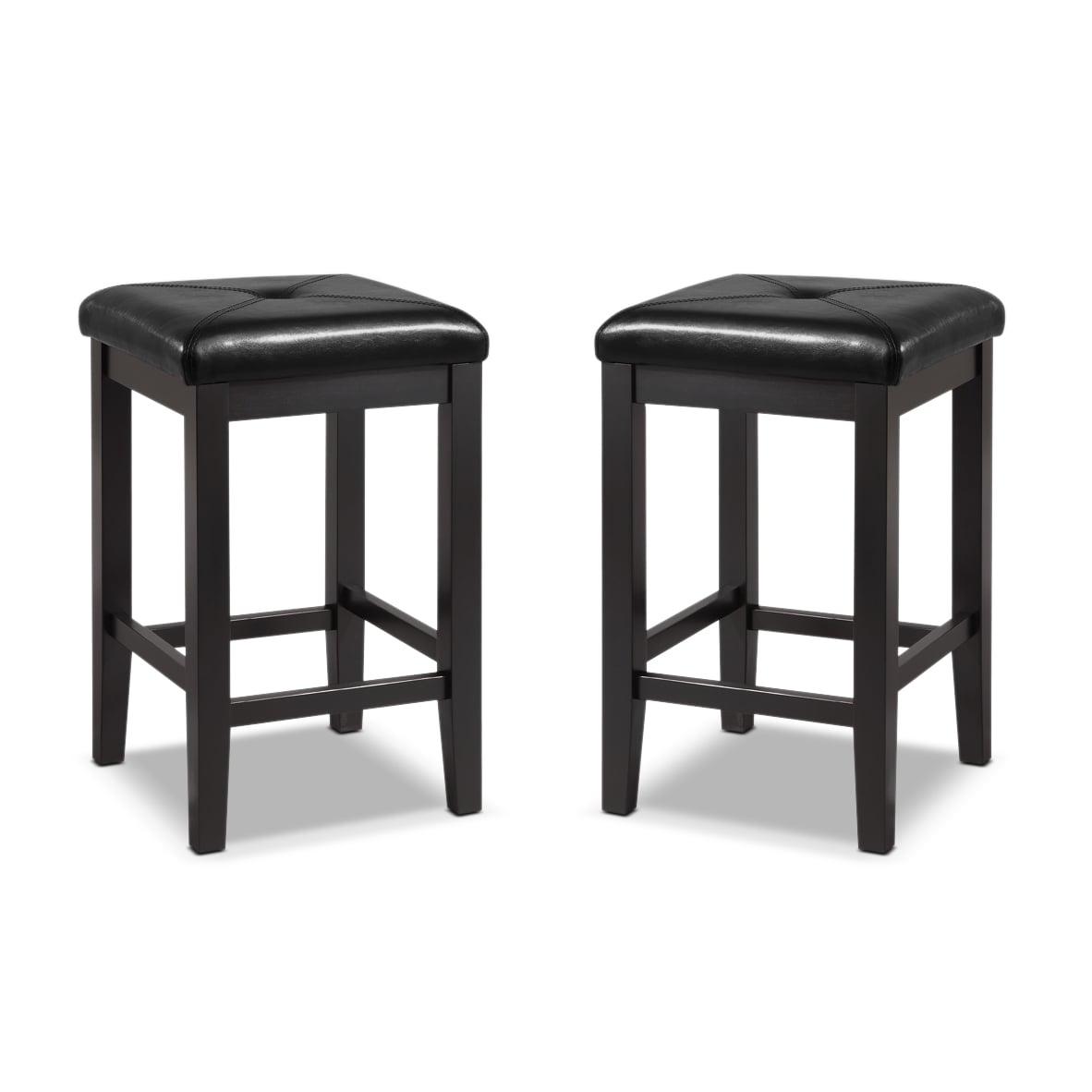 Bodega 2-Pack Barstools - Black