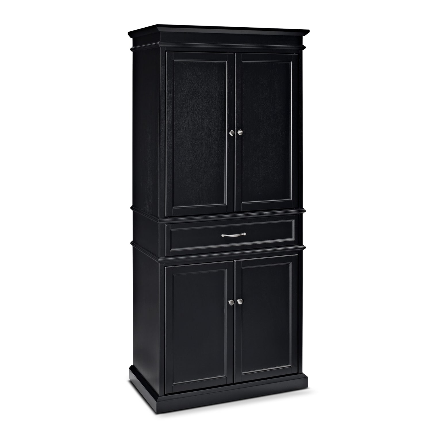 Dining Room Furniture - Midway Pantry - Black