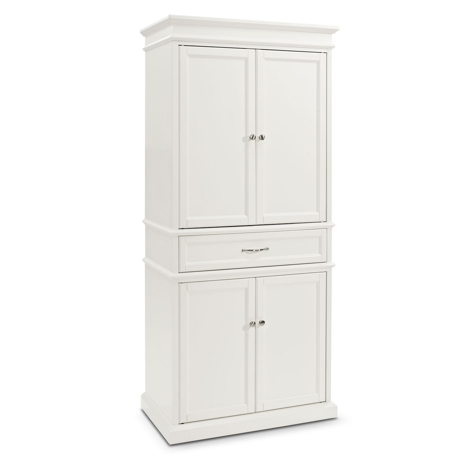Accent and Occasional Furniture - Midway Pantry - White