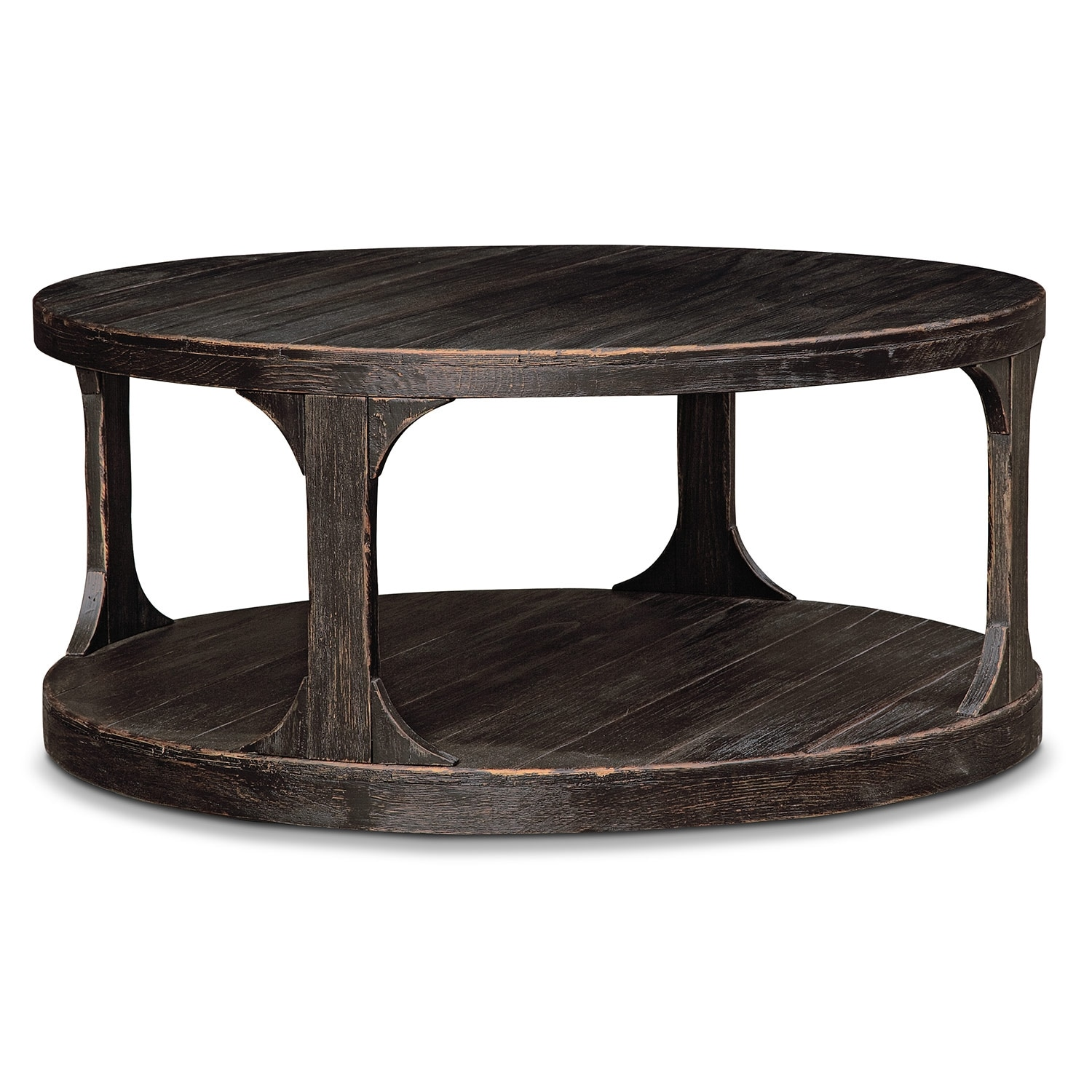 Prentice Cocktail Table Weathered Black
