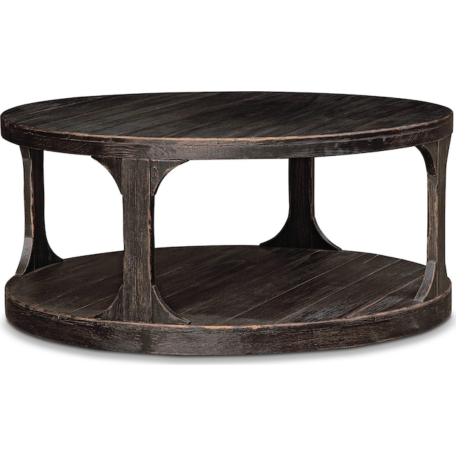Accent and Occasional Furniture - Prentice Cocktail Table - Weathered Black