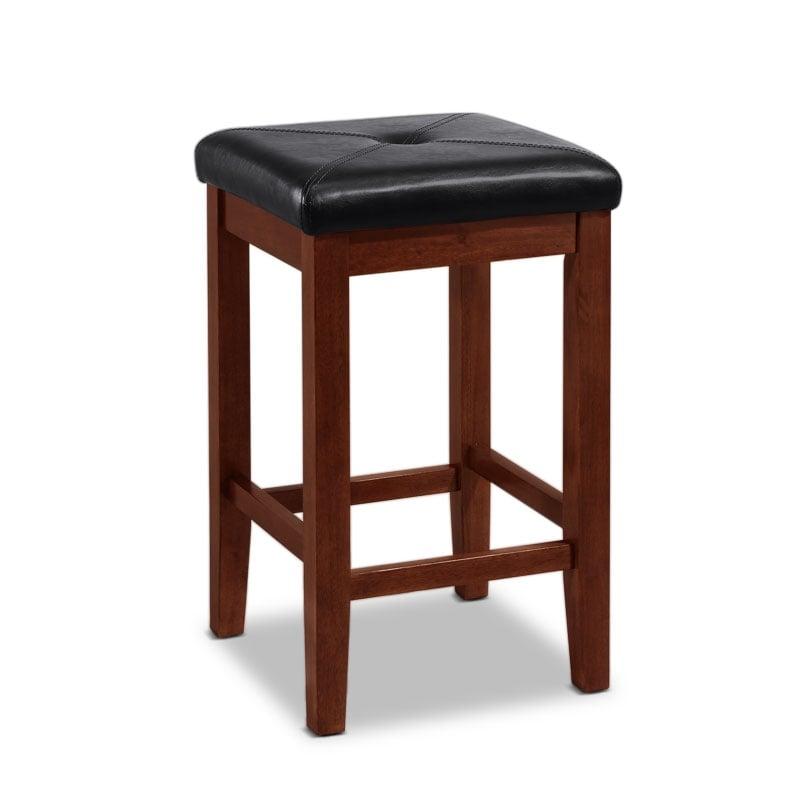 Marisol 2 Pack Barstools Mahogany Value City Furniture