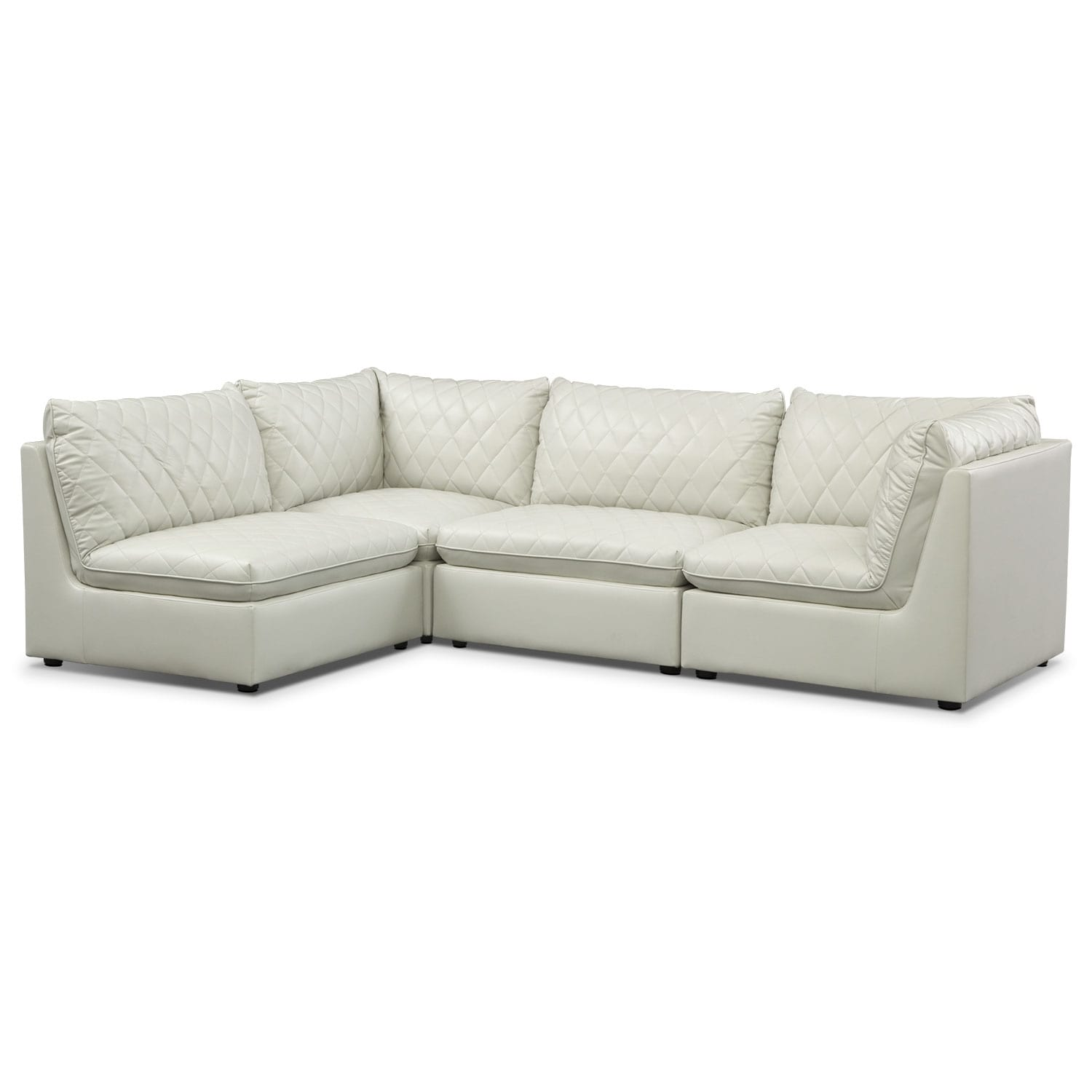 Coco Mist 4 Pc. Sectional