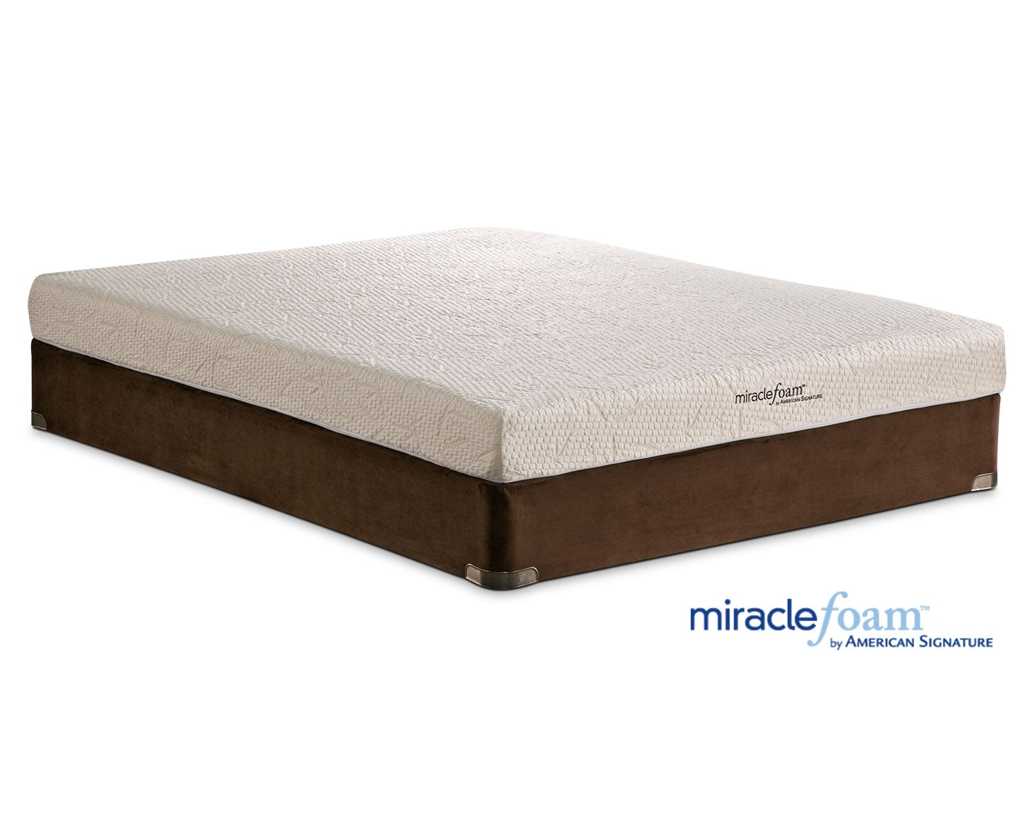 Shop Miracle Foam Mattresses Value City Furniture and Mattresses