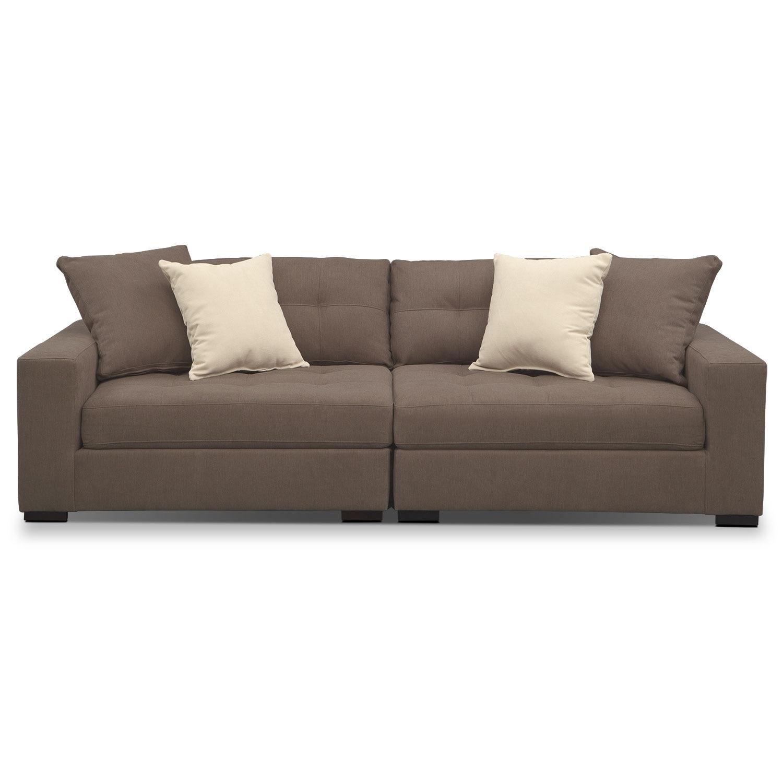 Modular Furniture Sofa: Venti Modular Sofa - Mocha