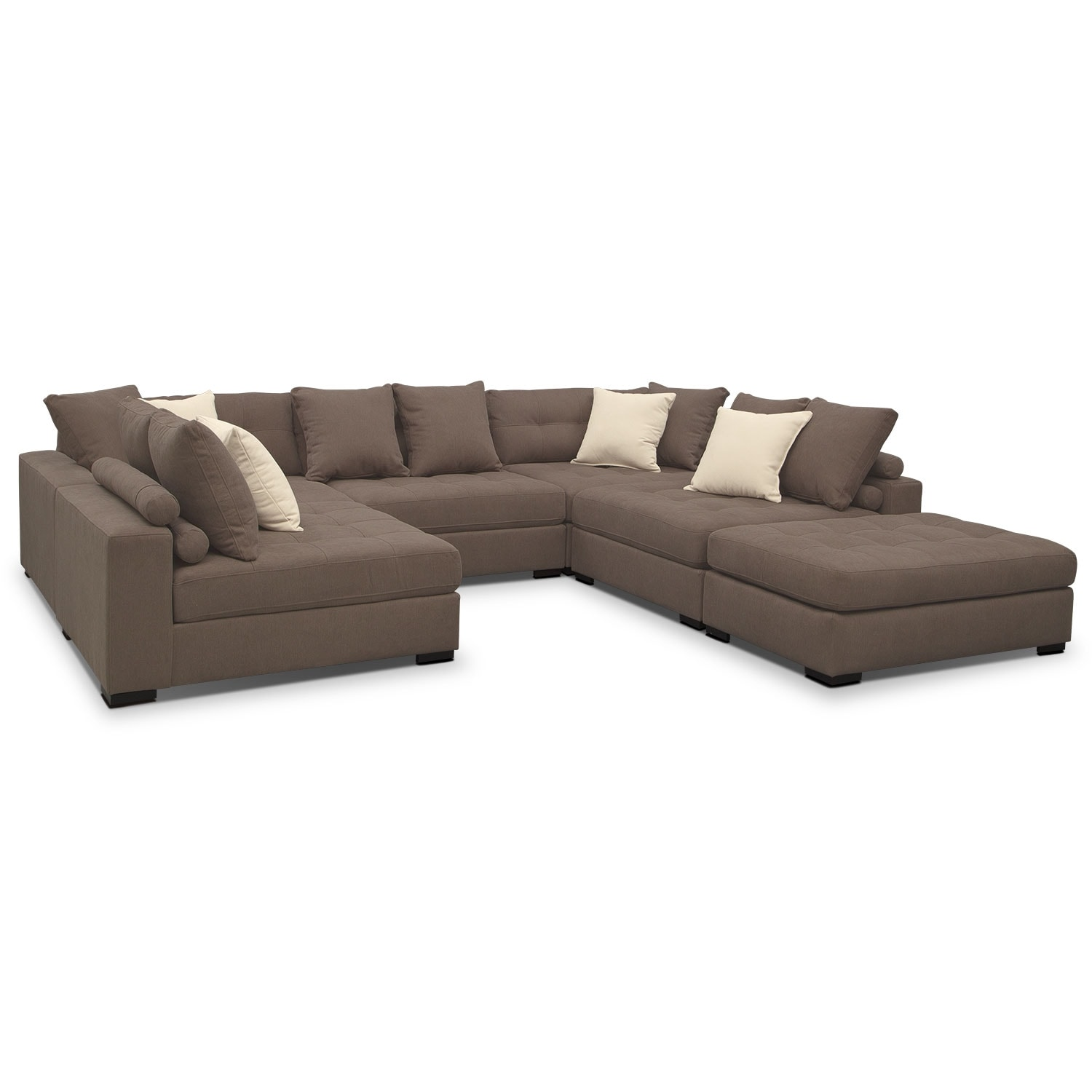 Venti Mocha 6 Pc. Sectional