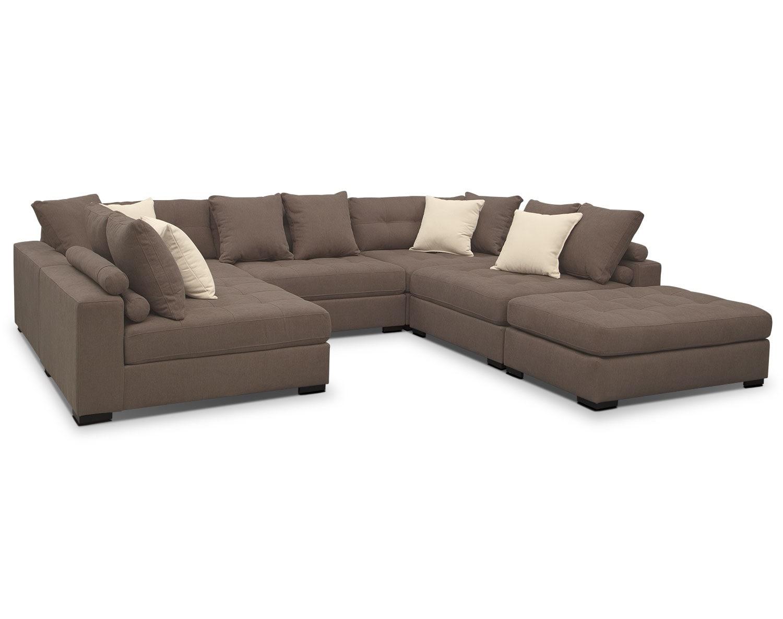 The Venti Collection - Mocha | Value City Furniture and Mattresses