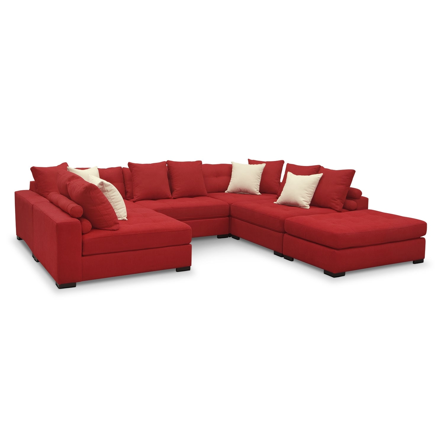 Living Room Furniture - Venti 6-Piece Sectional