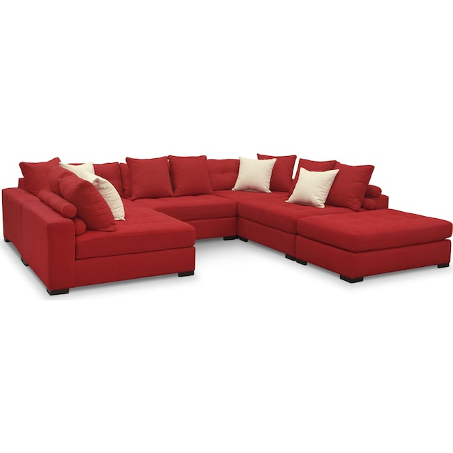 Venti 6 Piece Sectional Value City Furniture And Mattresses