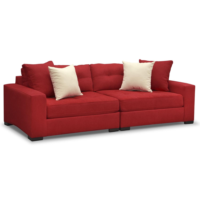 Venti Modular Sofa - Red