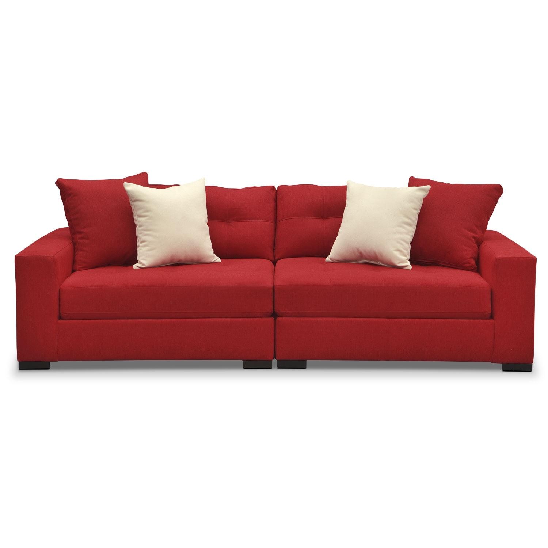 Venti Modular Sofa Red