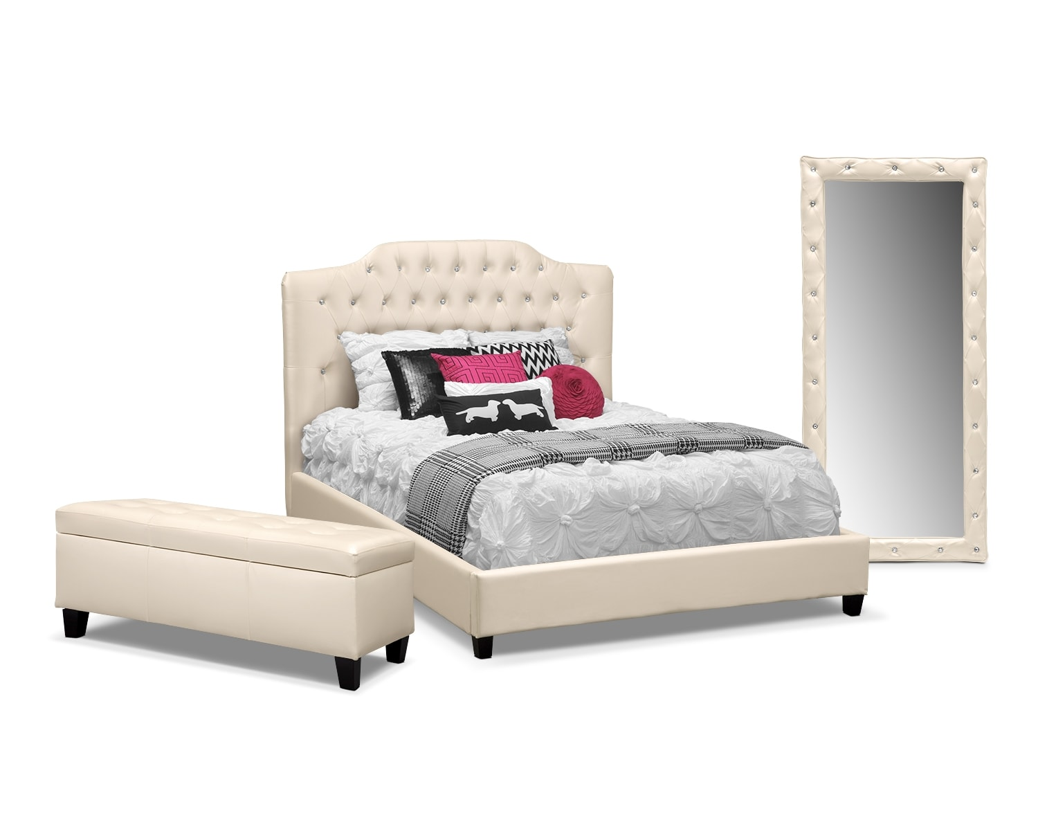 [The Valerie Pearl Bedroom Collection]